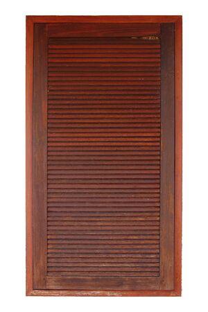 louver: louver wood window Stock Photo