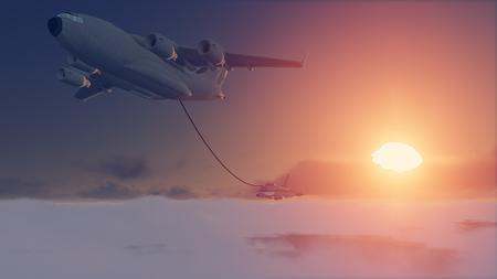 refueling: Refueling aircraft