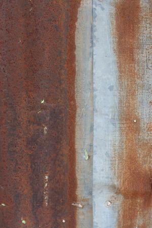 rust background: zinc rust background