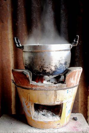 boil: pot Boil water