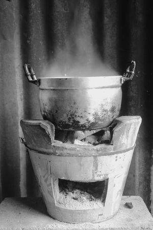 pot Boil water