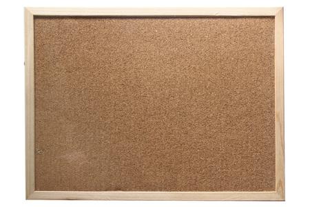 Cork Blatt Bord Standard-Bild