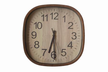 wake: 6.30 wake up time Stock Photo