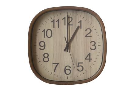 pm: 13.00 pm start to woking again Stock Photo