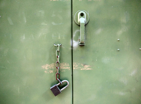 locked: The door is not locked