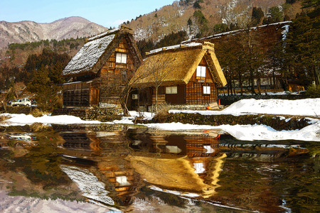 lodging: cottage in japan