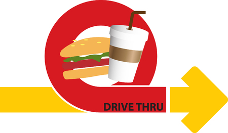 thru: drive thru coffee and fastfood