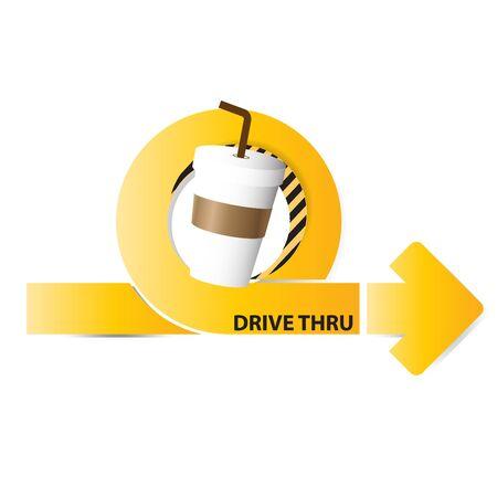 thru: coffee drive thru