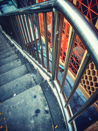 composition: stair image art composition vintage