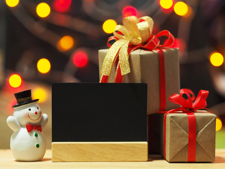 Gifts for special moments flat lay with copy space bokeh background