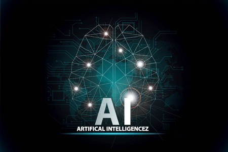 artificial intelligence concept 写真素材
