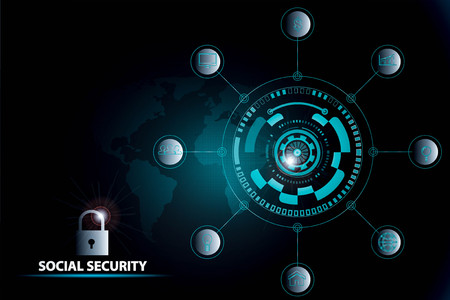 social security concept