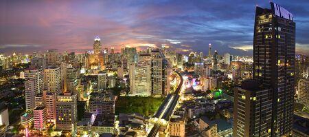 bangkok NIGHT: Landscape in Bangkok night time
