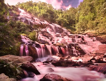 chaingmai: Mae ya waterfall,chaingmai,Thailand