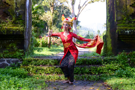 バリの踊り子 写真素材