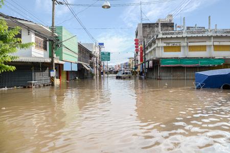 flooded water Reklamní fotografie