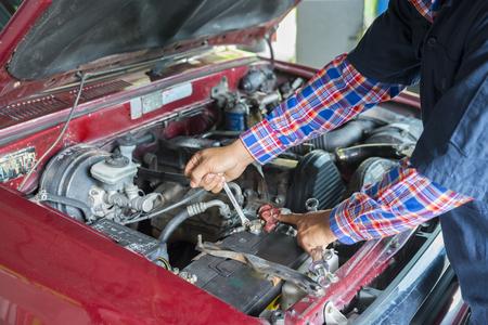 Battery car check
