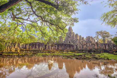 Bayon Temple Reklamní fotografie - 105983577