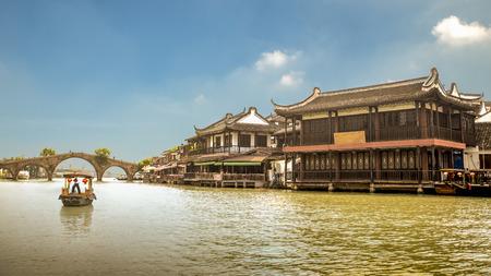 Fangsheng Bridge, Zhujiajiao, China