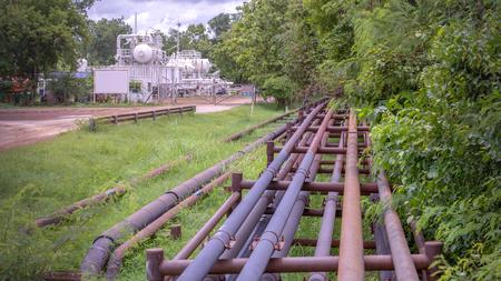 Oil field pipeline