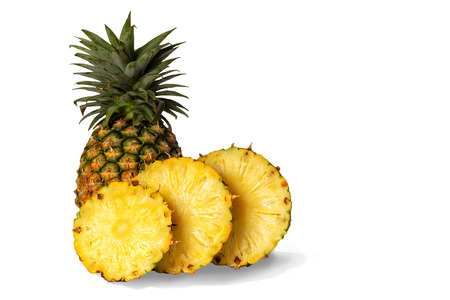 Pineapple slices Reklamní fotografie - 105995459