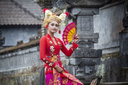 balinese dancer Balinese girl performing traditional dress