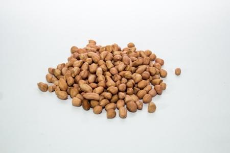groundnut: groundnut on white ground