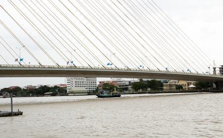 joa: Hanging Bridge in Bangkok