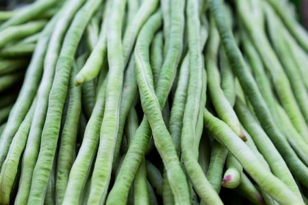 Long beans, in the Thai market  photo