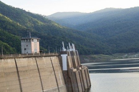 catchment: Dams for electricity Stock Photo