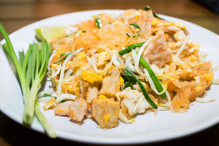 repast: Stir Thailand is the ultimate fried food of Asia  Stock Photo