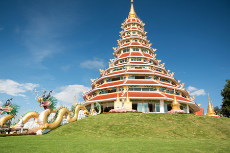 pla: wat hyua pla kang , Chiang Rai, Thailand