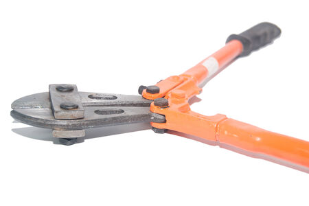 wire cutter: the Wire cutter isolate on white