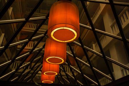 droplight: Illuminazione dell'hotel Archivio Fotografico