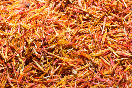 colorant: safflower Stock Photo