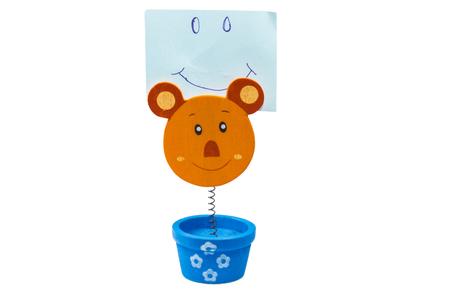 memorise: Strips Note striped bear Doll
