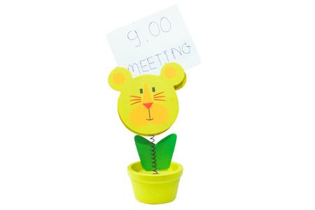 memorise: Strips Note striped lion Doll