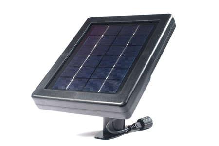 alternativ: Solar panels isolate on white