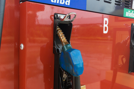 gasoline station: gasoline station fuel pump Archivio Fotografico
