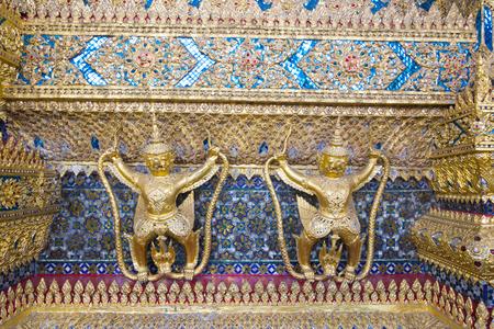 garuda: Garuda in Temple of the Emerald Buddha