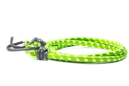 elasticity: cuerda elástica correas aislado en el blanco