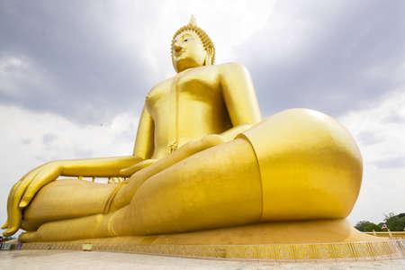 ang thong: beautiful biggest Buddha in Thailand, Ang Thong province
