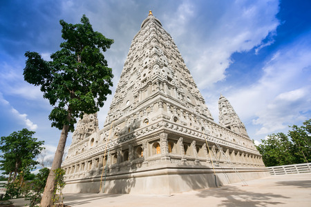 Wat Chong Kham Lampang create models from India Stock Photo