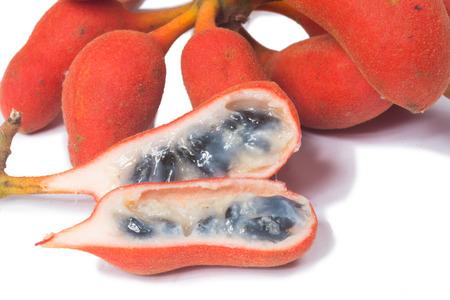 rufa: Seed of Uvaria rufa Blume fruit(Carabao teats), Herb rare in east of Thailand