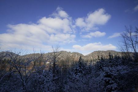 Alps mountain landscape cover Snow