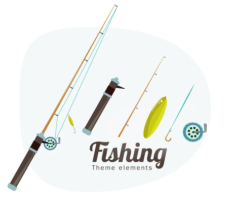 rods: Fishing rods set