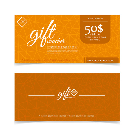 Gift Voucher Colorful Imagens - 43648166