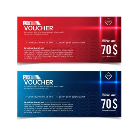 Gift Voucher template with premium pattern Imagens - 43649105