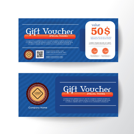 gold floral: Gift Voucher Coupon Card