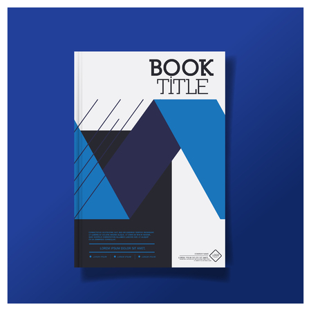 premier: Business brochure cover design layout template in A4 size, with Premier design template background Illustration
